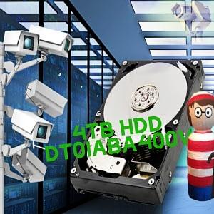Toshiba DT01ABA400V 4TB