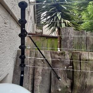 Nemtek additional electric fence installation