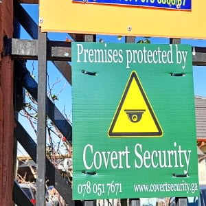 Premises protected by Covert Security