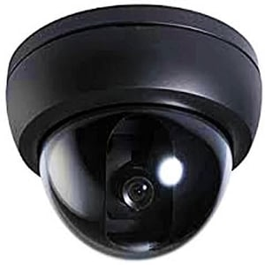 Example of a dome camera