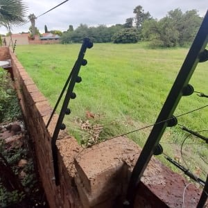 Nemtek electric fence installation