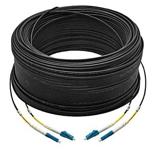 Premade drop fibre-optic cable