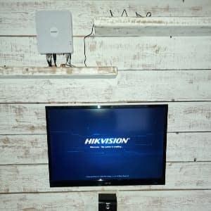 Hikvision DVR terminated