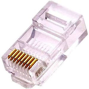 Example of a RJ45 connector