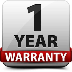 product comes with a 1 year warranty