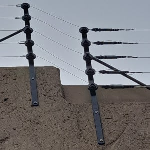 Electric fence addition